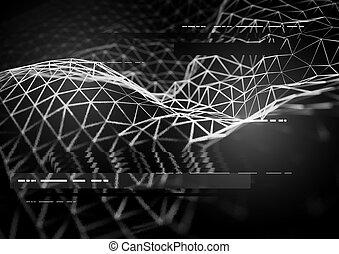 Dark Visualization