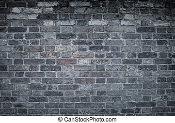 Dark wall.