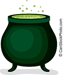 Dark Witch Magic Cauldron