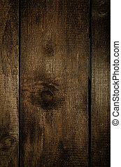 Dark wood background, focus on wood, place for advertising