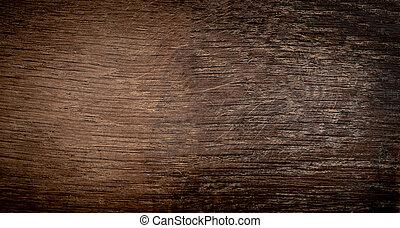Dark wood bark texture background with old natural pattern. Dark brown wooden surface