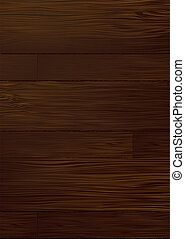 dark wood grain - Illustrated dark piece of wood that would...