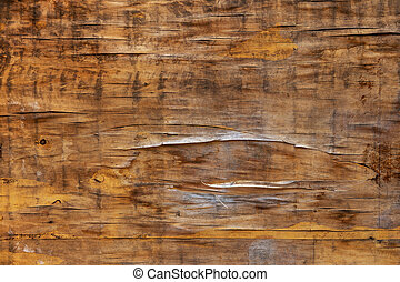Dark wood texture background. Background of natural texture of old cracked dark wood for design. Wooden boards with a shield