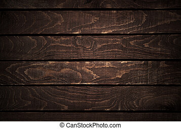 Dark Wood Texture Background Old Wooden Panels