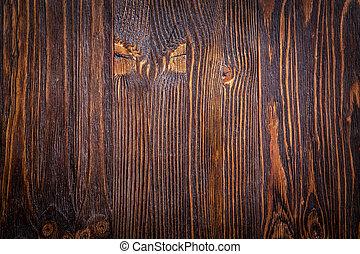Dark wood use as natural background - Old dark broun wooden...