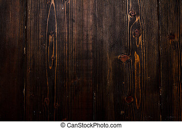 Dark wooden background/texture