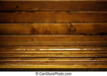 Dark wooden room background