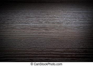 Dark wooden surface with gradient
