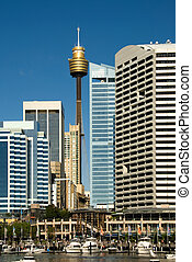 Darling Harbour Scene, Sydney, Australia