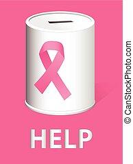 darować, dla, rak piersi, praca badawcza, niejaki