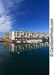 Darsena - dock in Genoa, Italy