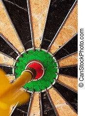 Dart Board Bulls Eye