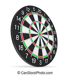 dartboard., サイド光景