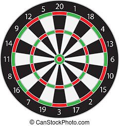 dartboard, abbildung