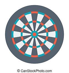 Dartboard for Darts Game