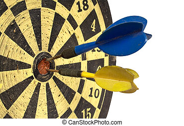 Dartboard with Clipping Path