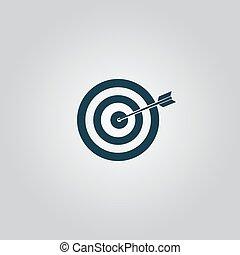 dartboard, zentrieren, wurfpfeil