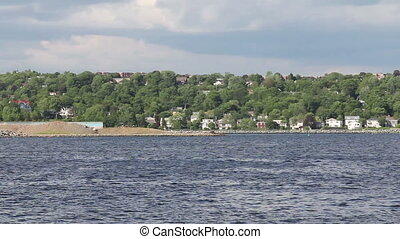 Dartmouth - View of Dartmouth from the Halifax side of...