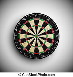 Darts board - Professional darts board. Eps 10
