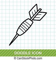 Darts doodle