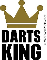 Darts King Crown