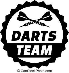 Darts Team Button
