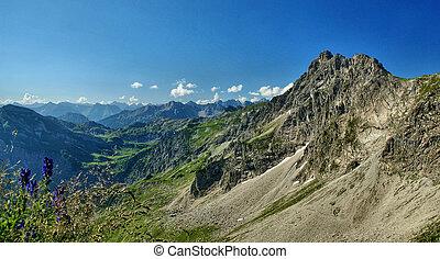 Das Rauhorn - Schroffe Berge und eine imposante Alpen Welt