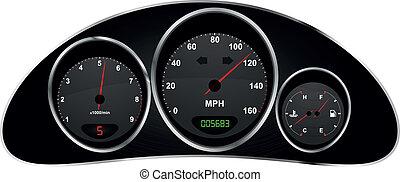 dashboard car - illustration of dashboard of car