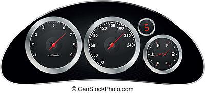 dashboard car
