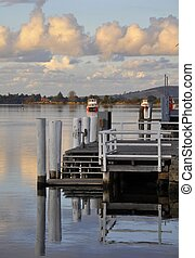 dask at Shoalhaven River - Sunset at the Shoalhaven River ...
