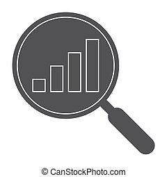 Data Analysis Black Silhouette