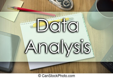 Data Analysis - business concept with text