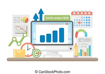 Data analysis concept.