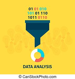 Data Analysis Flat Concept