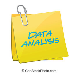 data analysis post illustration design