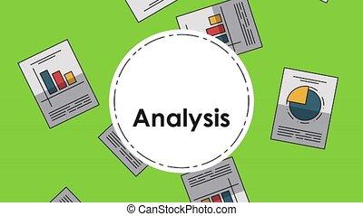 Data analysis statistics HD - Data analysis round icons over...