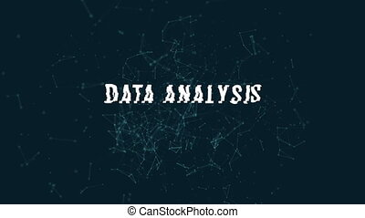 Data analysis with polygonal connecting dots and lines...