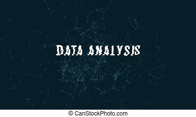 Data analysis with polygonal connecting dots and lines ...