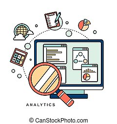 data analytic concept