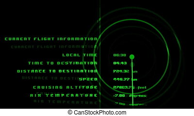 data and information associated with airplanes and aviation
