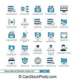 Networks Icon Set