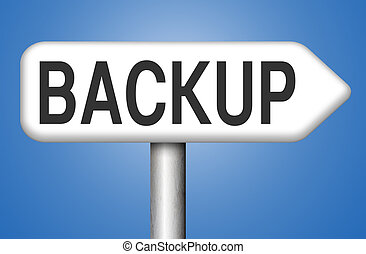 data backup - Backup data and software on copy in the cloud...