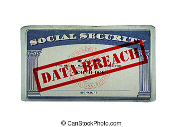 Data breach ID card