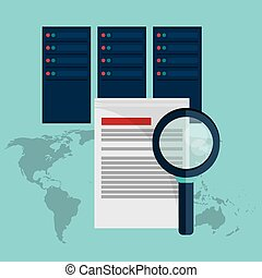 data center document analysis search