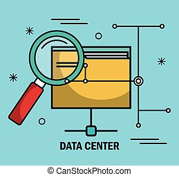 data center files folder search isolated