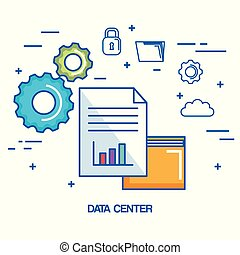data center folder file archive security cloud network