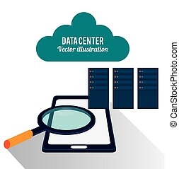 data center mobile phone cloud search