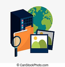 data center server folder picture search virtual