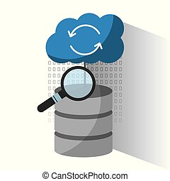 data center server storage cloud search solution analysis