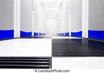 Data center suite - Clean suite in a data center with the...